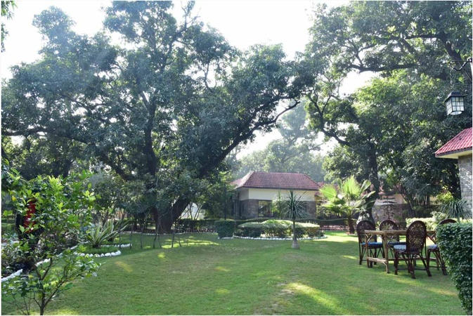 Jungle Leela Resort Ramnagar Jim Corbett - Banquet Hall