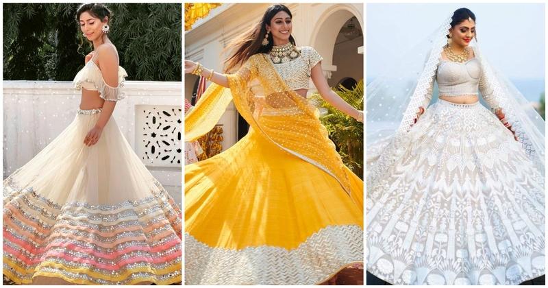 10 Gorgeous bridal lehengas for this summer season!