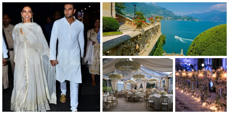 From Ranveer entering on a Sea Plane to the Wedding Venue's exclusive pictures, here's the recent most updates on #deepveer Wedding!