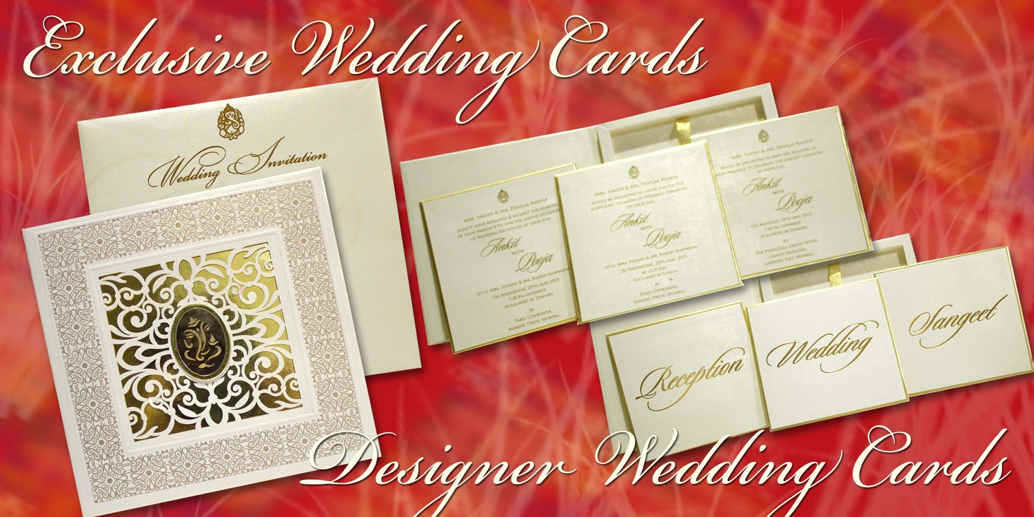 Rolex Card Manufacturing Co., Wedding Invitation Card in Mumbai ...