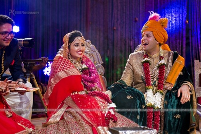 Candid wedding photography captured by PK Suri Photography