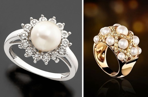 Bridal Pearl Rings – Fancy up Your Fingers