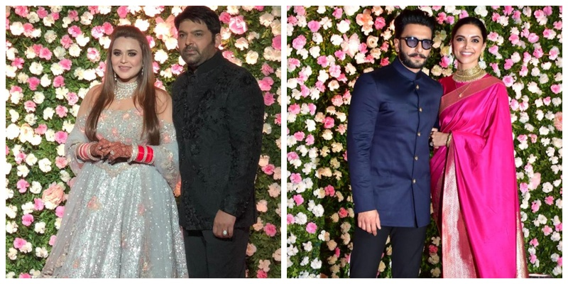 All the inside Deets, Pics and Videos from Kapil Sharma and Ginni Chatrath's Mumbai Reception!