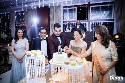 Pre-wedding cocktail party with family and friends