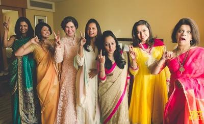 Pre wedding bridemaids fun.
