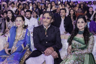 Jackie Shroff with other notable guests at the cocktail night