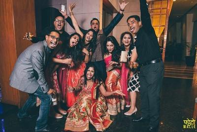 Fun at Sangeet/Cocktail party.