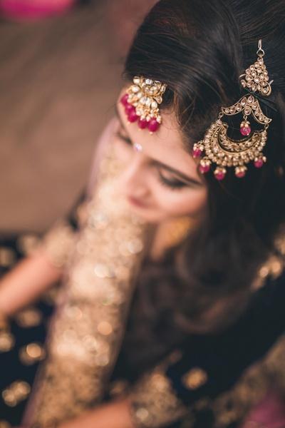 top shot bridal portrait ideas