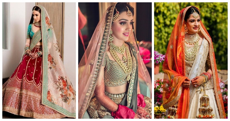 10 Brides who Chose the Right Colour Combination for their Dupattas
