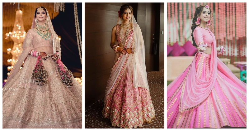 5 Brides who Rocked Yummy Pink Lehengas