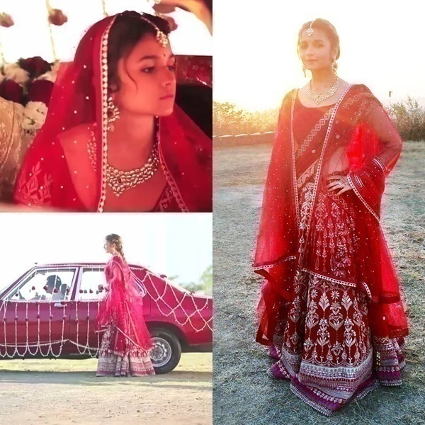 Bridal Wear Inspirations from the Cute and Bubbly Alia Bhatt