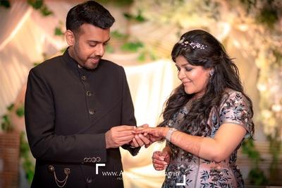 Anshul and Paridhi's engagement ceremony