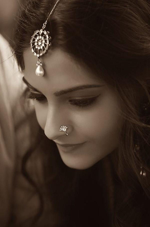 Subtle Maharastrian Nath or Nose Ring Designs