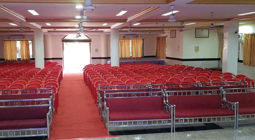 Arya Samaj Mandir and Ashram Vashi Mumbai - Banquet Hall