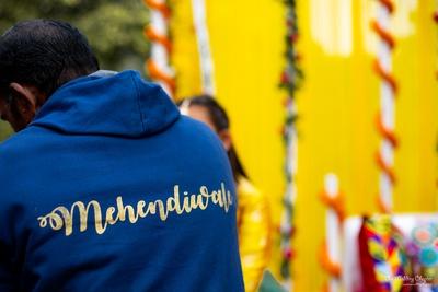 Custom attires for the mehendi ceremony