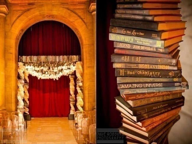 And you thought books were only for reading