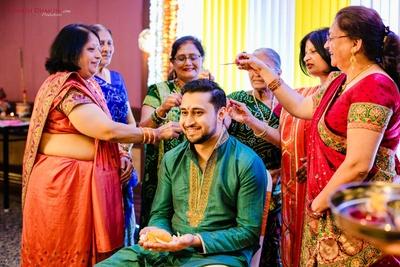 haldi ceremony for the groom