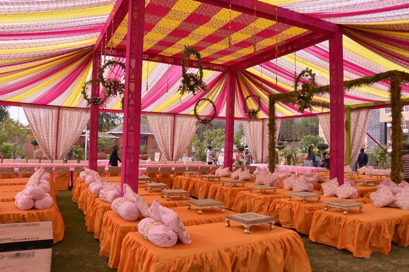 Best 5 Wedding Lawns in Jaipur for Your Royal Celebration