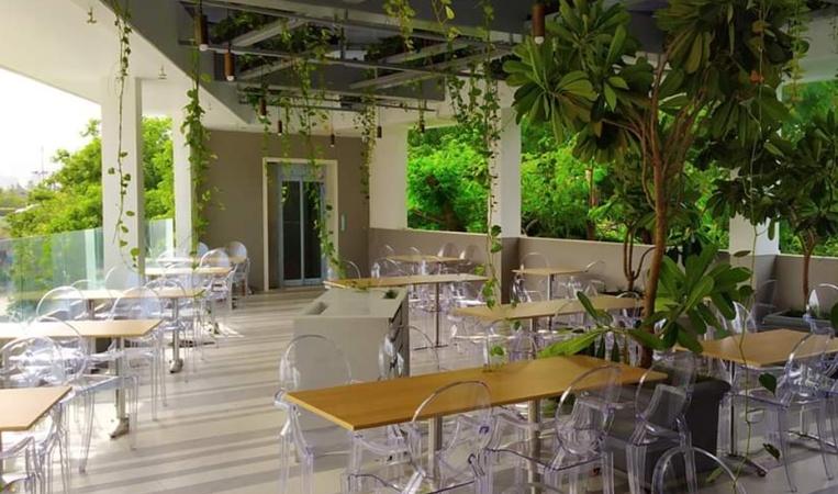Darshan Restaurant Baner Pune - Banquet Terrace
