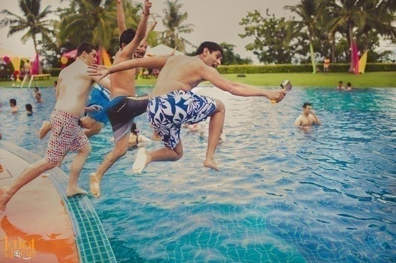 Pool + Foam Party