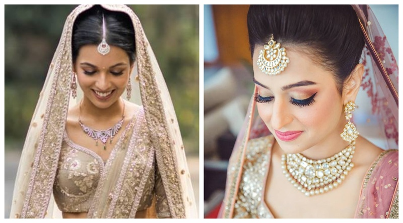 15 Brides who stunned us with their minimal jewelry choices for their wedding day!