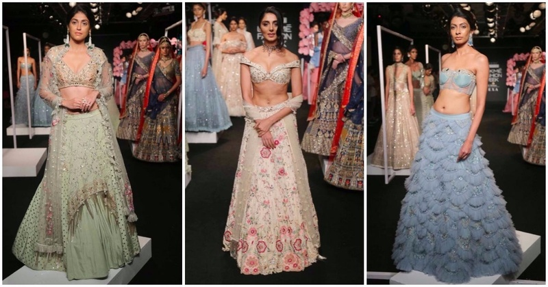 Monika Nidhii – These Sparkly Bridal Lehengas Are Perfect For Your Sangeet Night!
