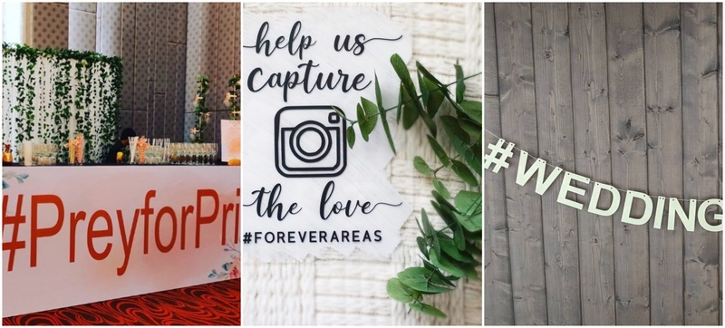 5 Reasons That Make a Wedding Hashtag Worth It!