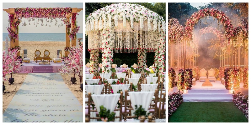 50 Drool-worthy Mandap Decoration Ideas from 2019   #Weddingz2019Rewind