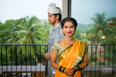 Bridal jewellery and traditional wedding attire captured by Knots by AMP