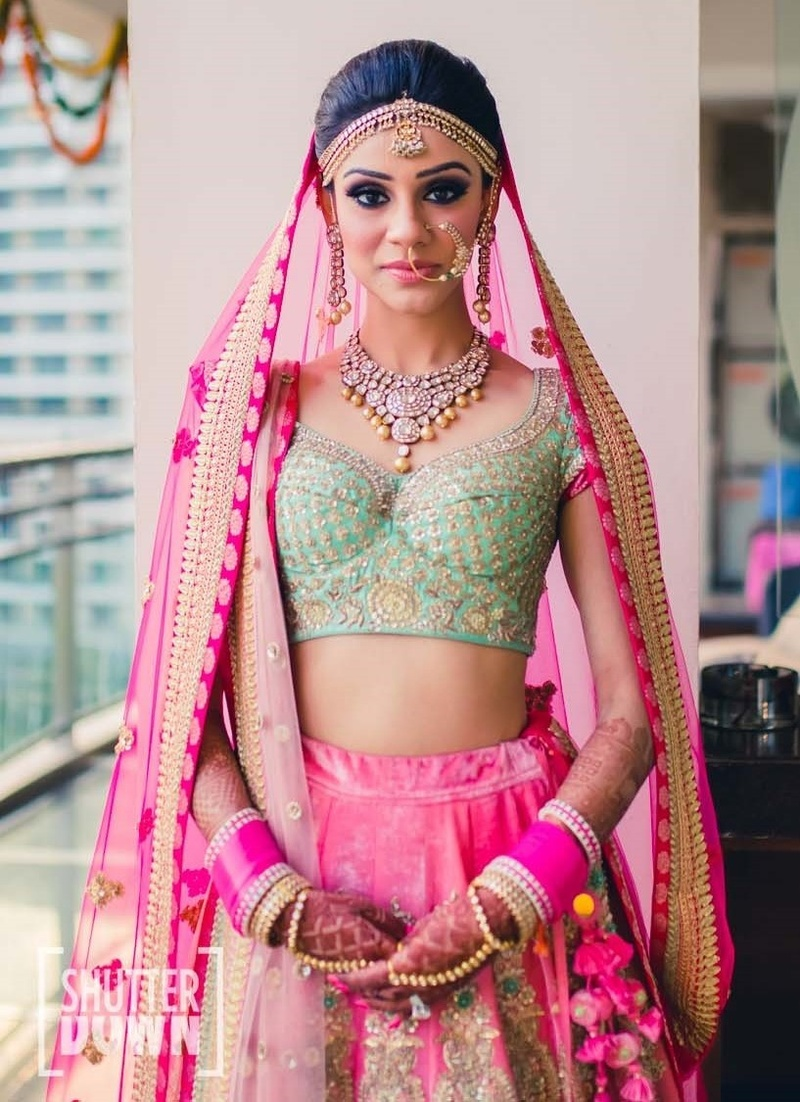 The Mint and Pink Lehenga Trend – Here's What's Taking Over Bridal Fashion