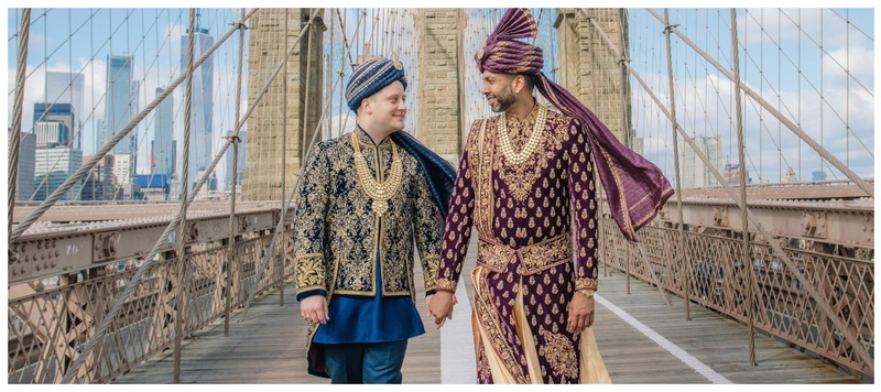 Amit & Martin New York : This beautiful cross-cultural, same-sex wedding is a proof that love trumps all!