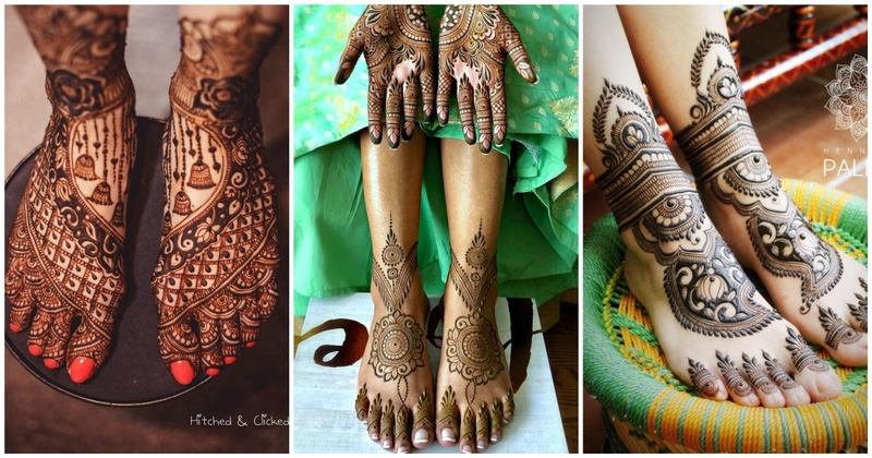 10 gorgeous foot mehendi designs for the new-age bride!