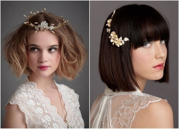 Stunning way to wear flowers in your hair