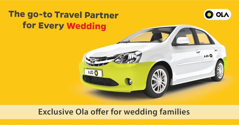 These exclusive discount offers from Ola will make your wedding travel a breeze!