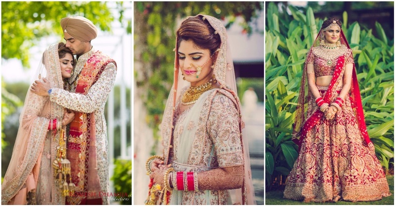 Bride Of The Week: This Bride Rocked Both Sabyasachi And Gaurav Gupta Outfits At Her Big Fat Indian Wedding