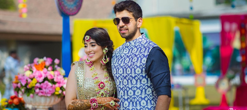 Arjun & Ayesha Karjat : Arjun and Ayesha, the founder of The Papier Project got hitched in a The Royal Elm, Karjat wedding!