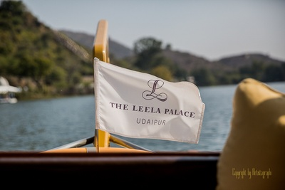 Elite and classy boat flag for The Leela Palace, Udaipur
