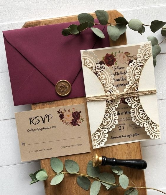 20 Invitation Card Designs To Check Before Getting Your