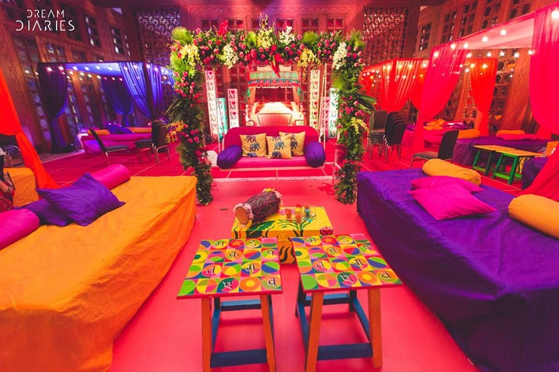 Home Decoration Ideas For Mehndi , Beach Vacations