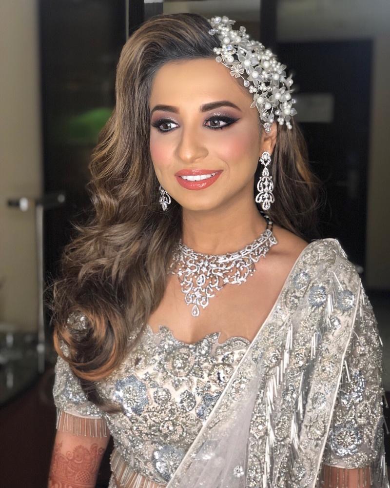 Wedding Hairstyle Ideas For Mehndi Sangeet Wedding Reception Bridal Look Wedding Blog
