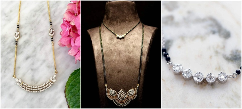 9 Contemporary Diamond Mangalsutra For The On The Go Bride