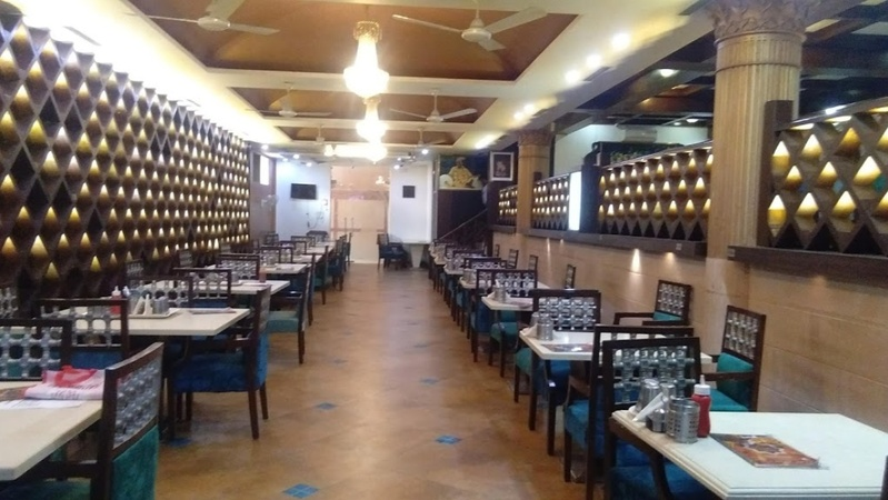 Govindas Restaurant East of Kailash Delhi - Banquet Hall