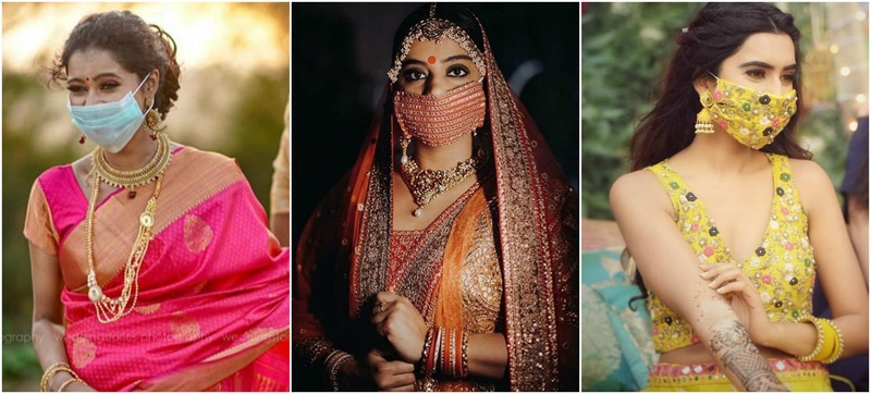 #TrendAlert: Bridal Masks - The Brides Who Looked Chic in Masks