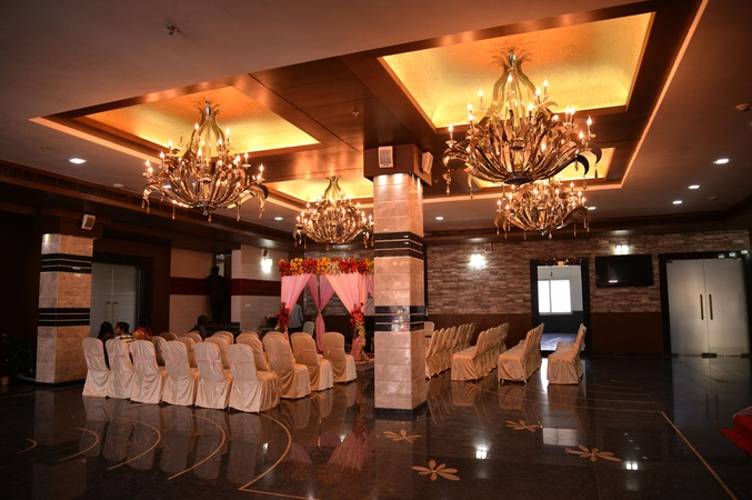 Grand Lumbini Convention Chandrasekharpur Bhubaneswar - Banquet Hall