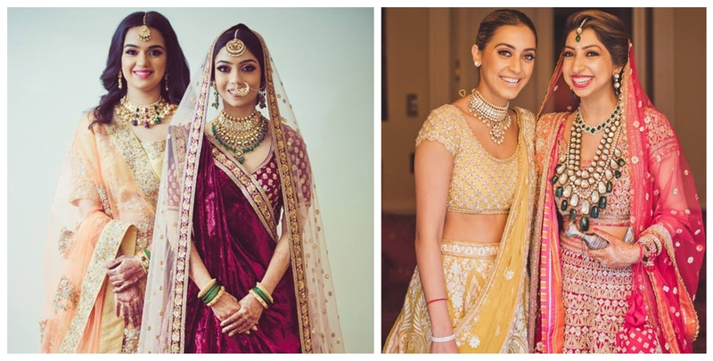 15 Stunning Indian Wedding Dresses for Bride's Sister!