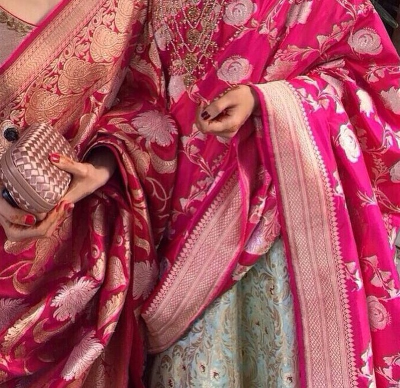 Bridal Lehenga Designs with Dupattas/Chunnis We LoveLove!