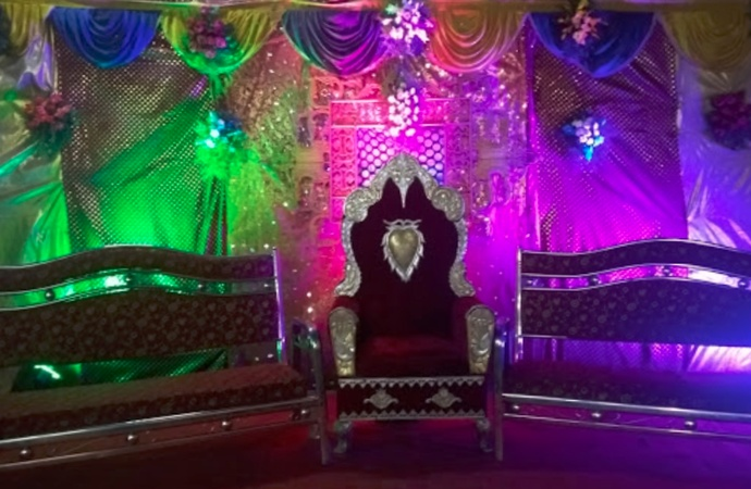 Milan Garden Function Hall Nawab Saheb Kunta Hyderabad - Banquet Hall