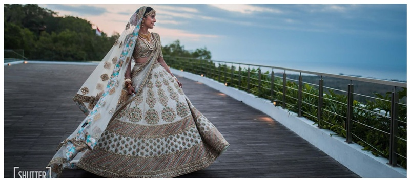 Mayank & Sakshi Bali :  A gorgeous Bali wedding with major trousseau and decor inspiration!