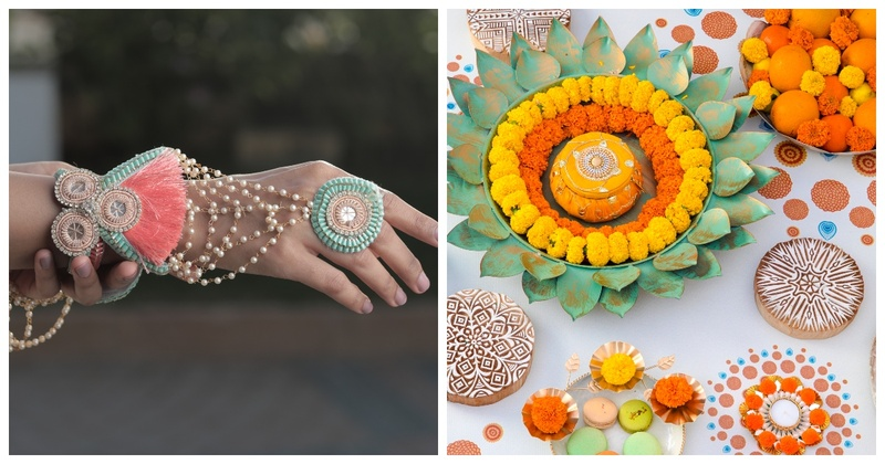 Floral Art By Srishti: One-Stop-Shop for all Bridal Floral Jewelry and Floral Props