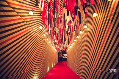sangeet decor for the wedding ceremony